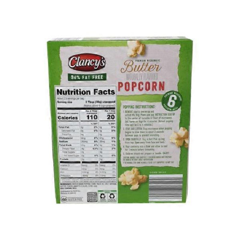 fat free butter microwave popcorn 16 2