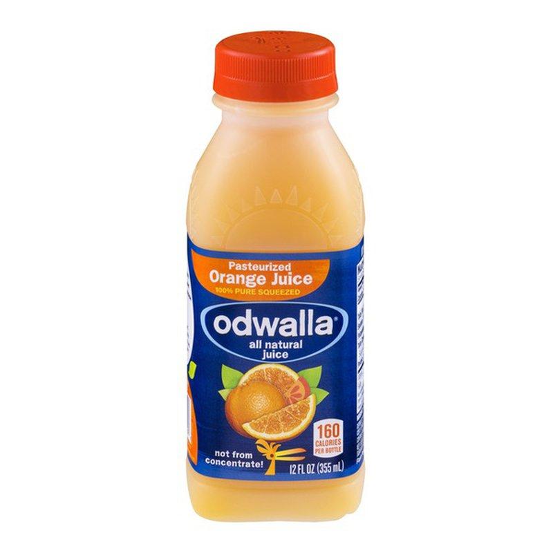 Odwalla All Natural Pasteurized Juice Orange (12 fl oz ...