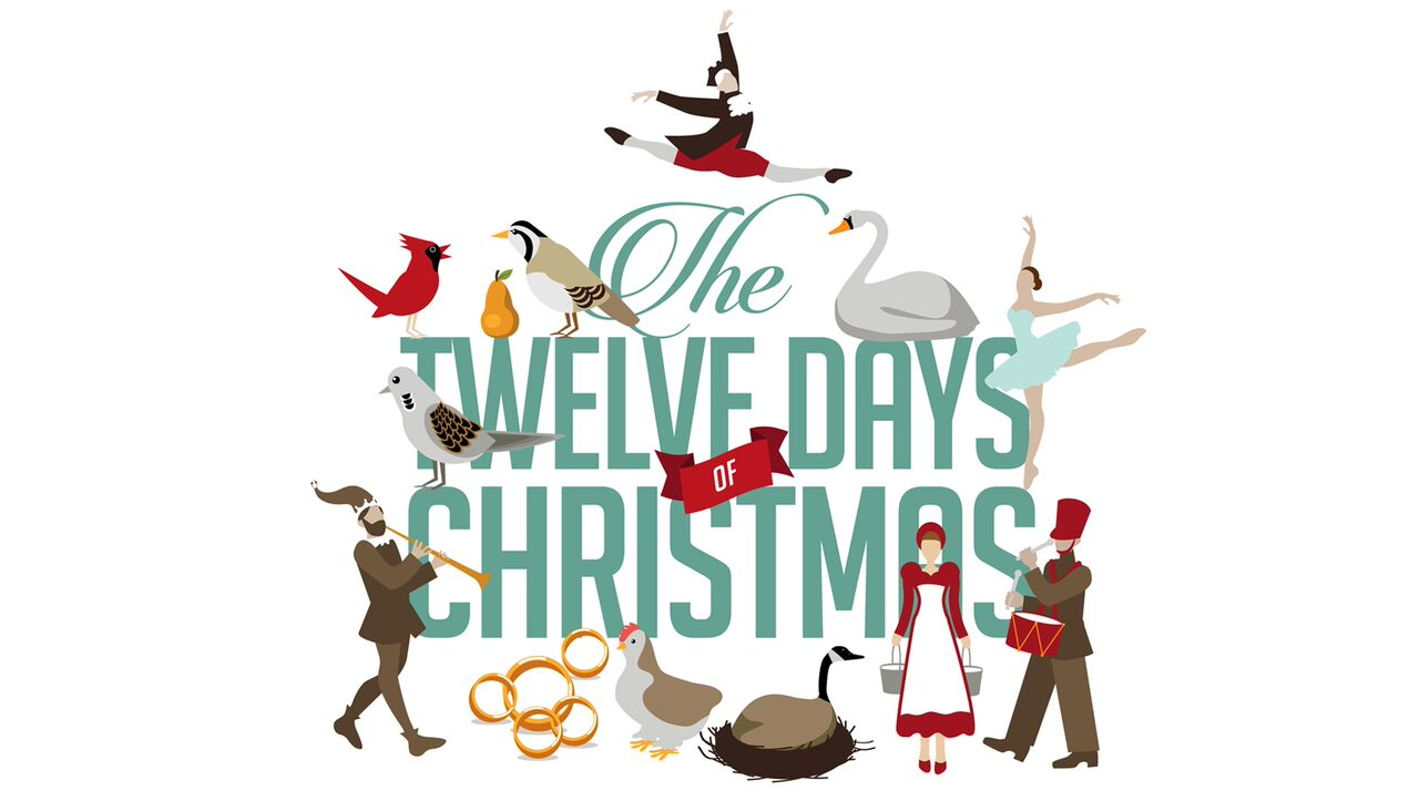 hight resolution of where did the 12 days of christmas come from while in america we might assume that the twelve days of christmas are those leading up to christmas day