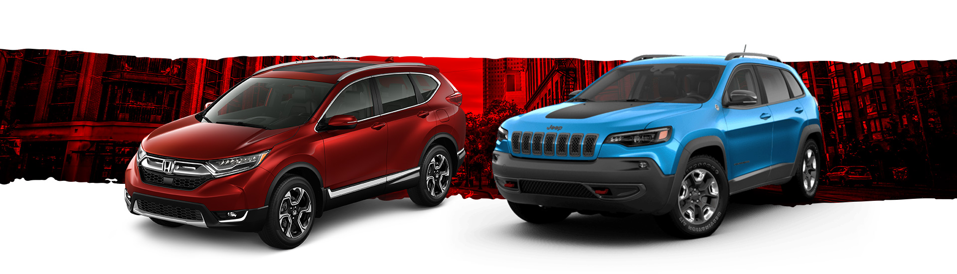Jeep Cherokee vs Honda CR-V
