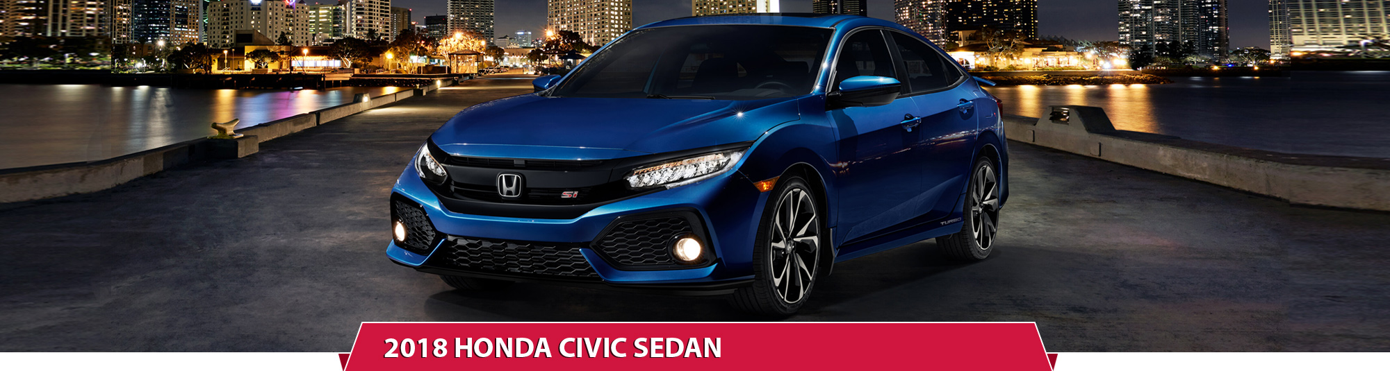 All The New 2018 Honda Civic Sedan