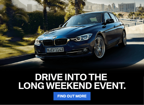 Drive Into The Long Weekend Sales Event.