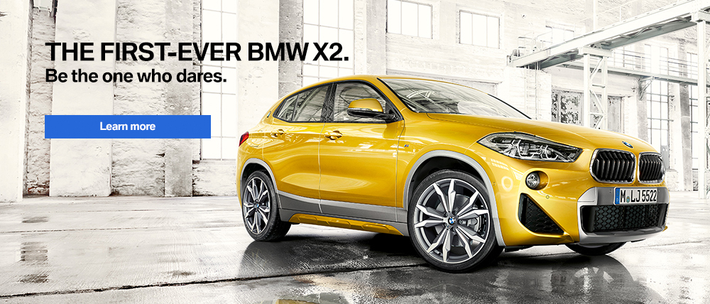 2018 BMW X2 Learn More