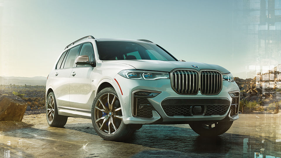 First Ever BMW X7
