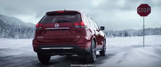 Nissan starts 2017 with chilling New Rogue Commercial
