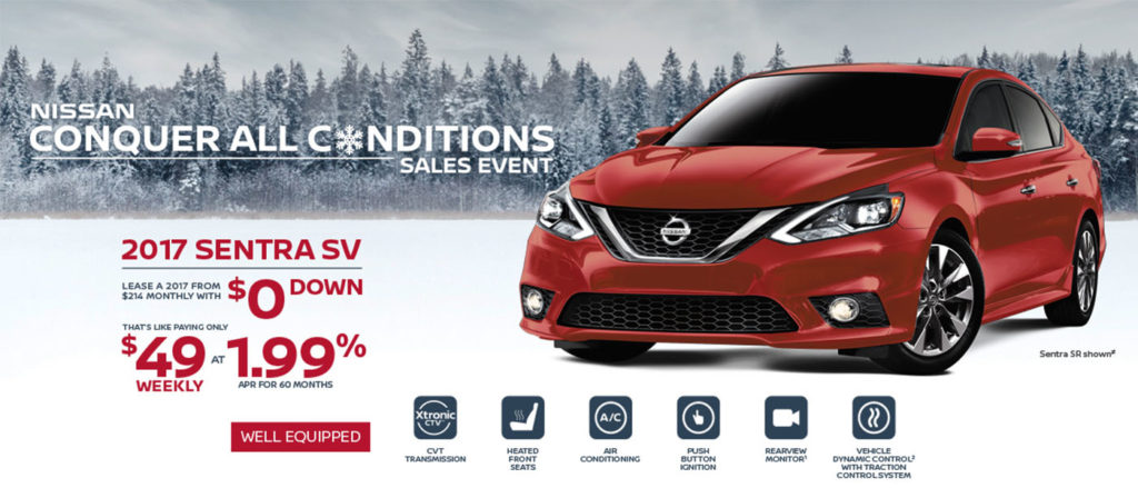 Sun Valley Nissan Conquer All Conditions Sentra