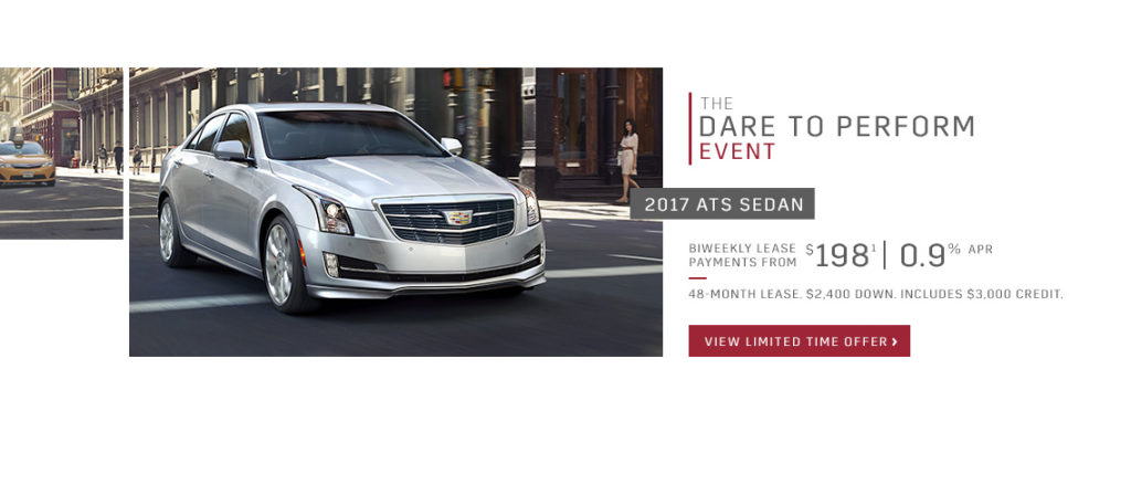 May Cadillac Offer