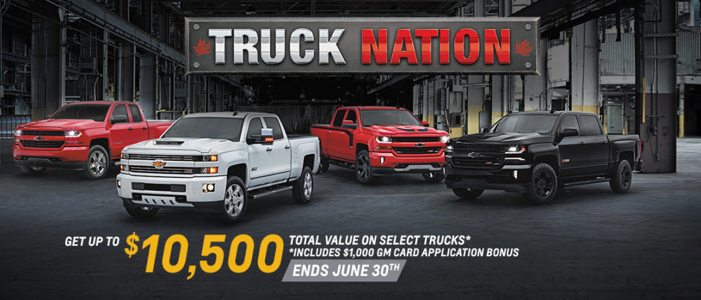 June Chevrolet Truck Offer