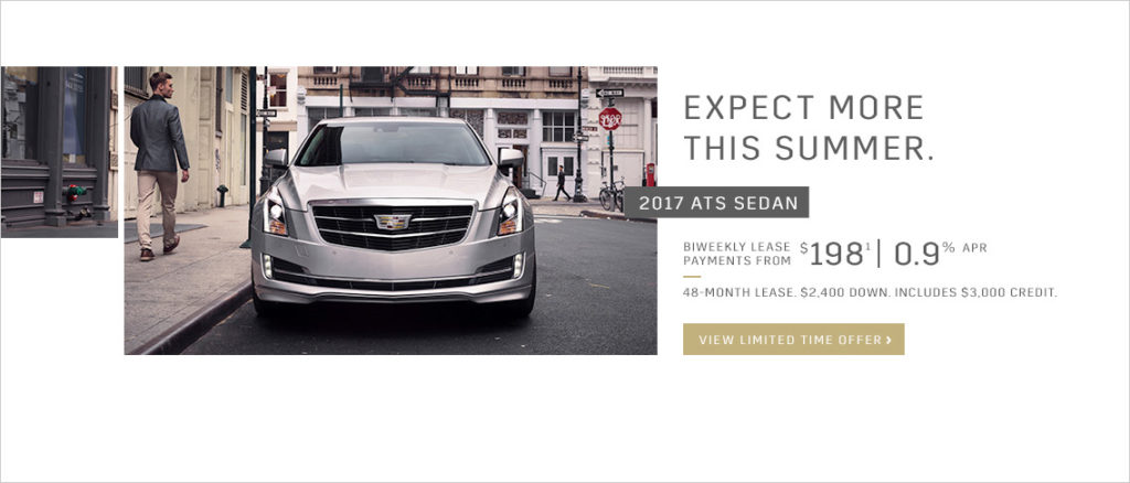 June Cadillac Offer