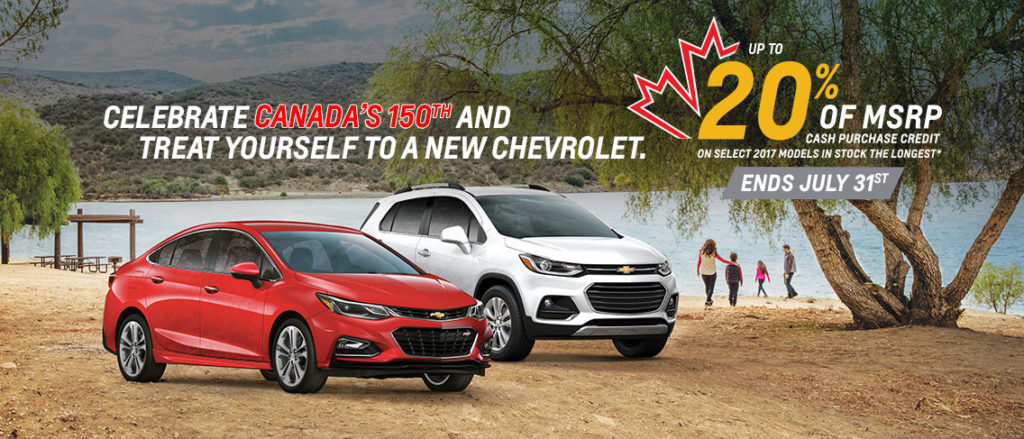 July Chevrolet Offer