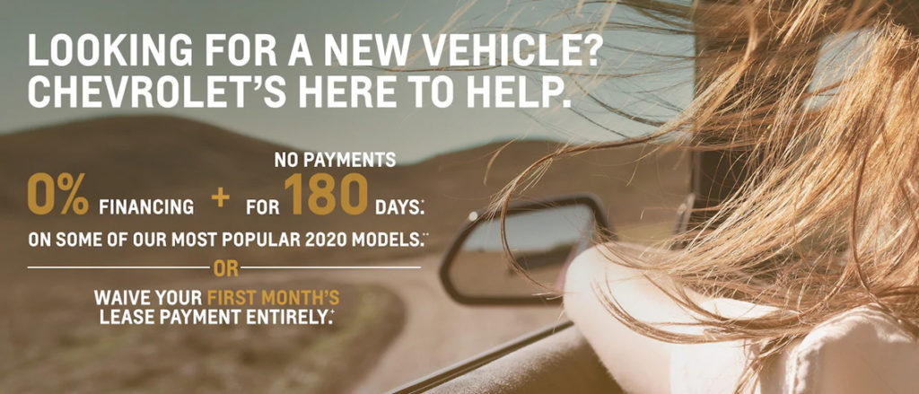 May 2020 Chevrolet Offer