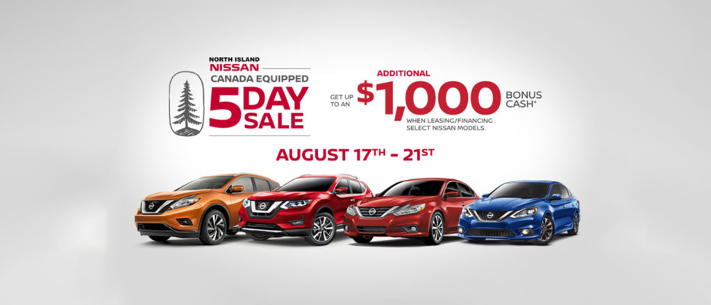 August 5 Day Sale