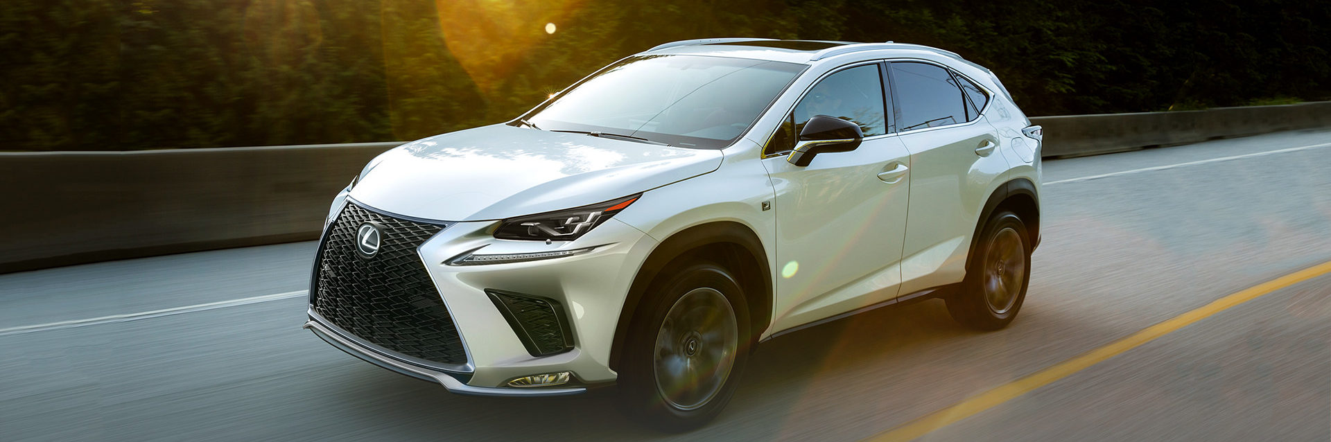 The New 2019 Lexus NX 300 Luxury SUV in Vancouver, BC