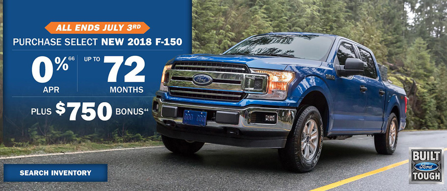 June Ford truck offer