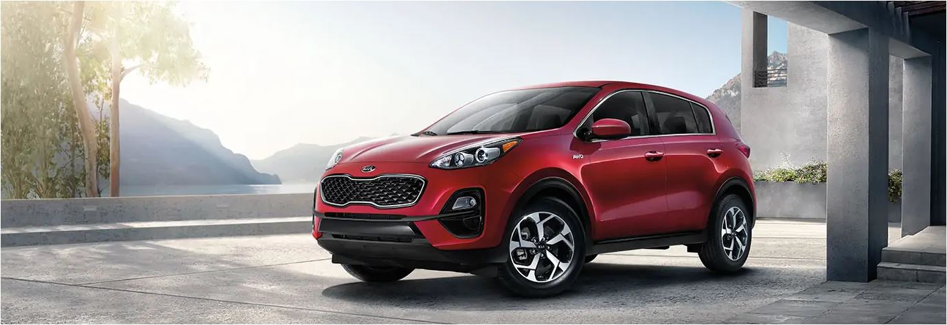 Red 2021 Sportage