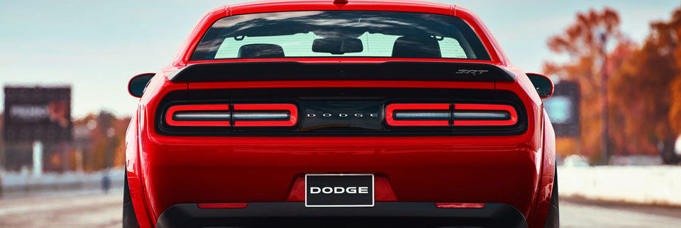 2018 Dodge Challenger rear