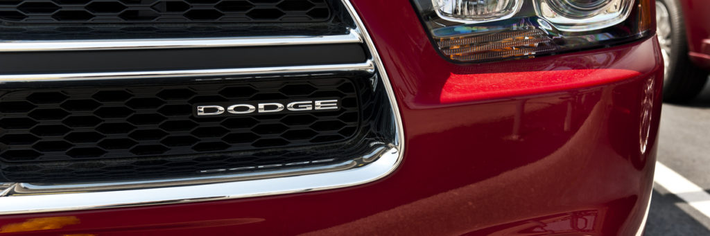 Dodge Logo On Charger Grill
