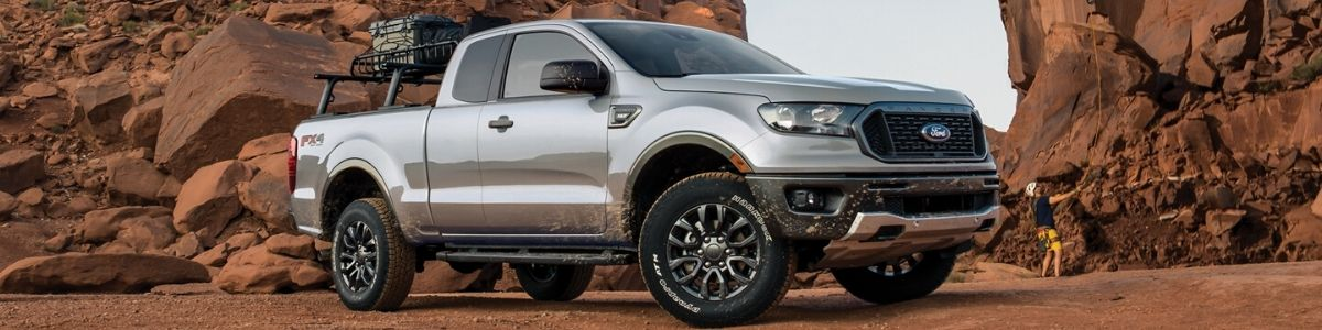 The 2020 Ford Ranger at Kamloops Ford