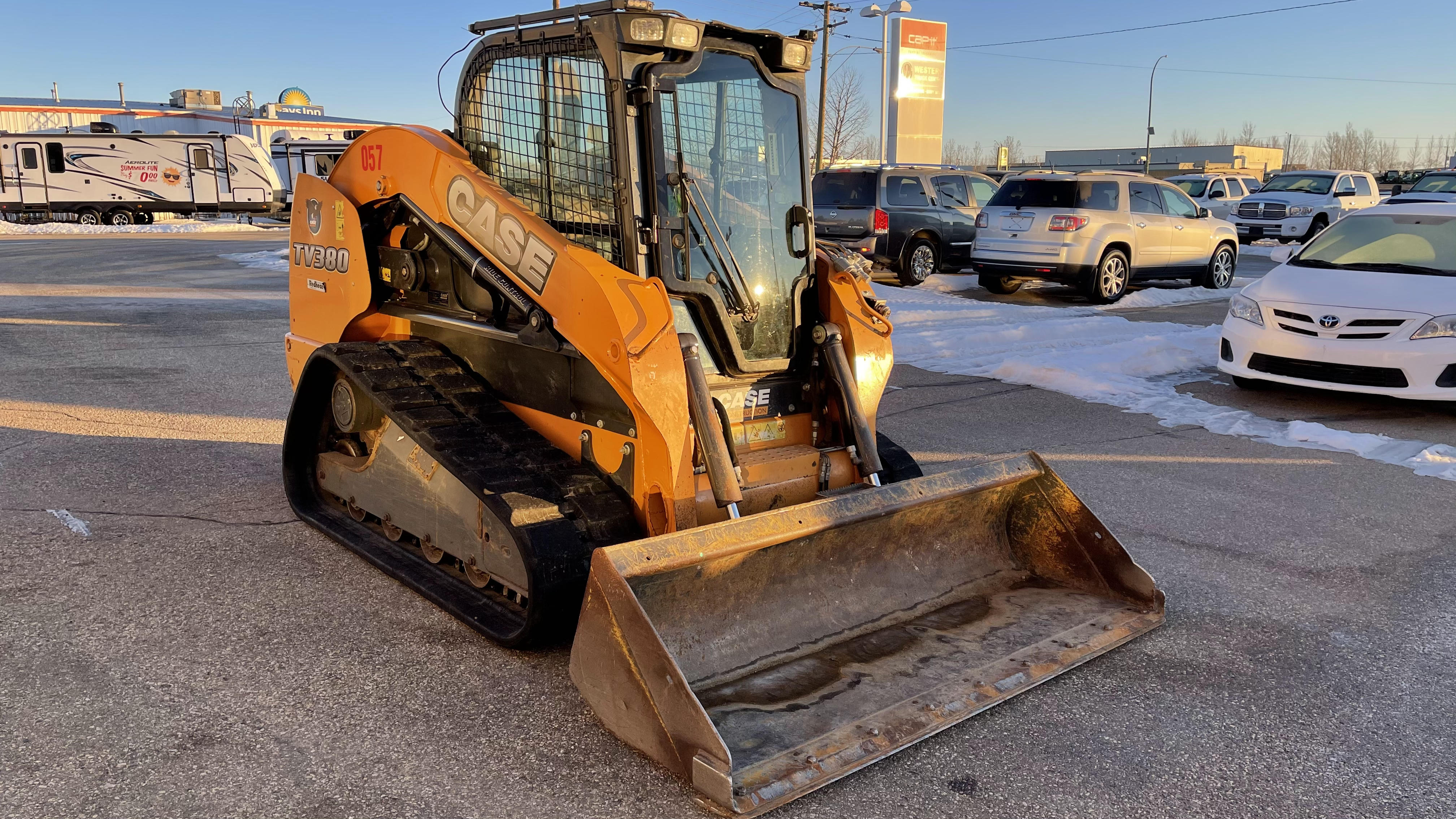 2014 CASE TV380 Track Loader