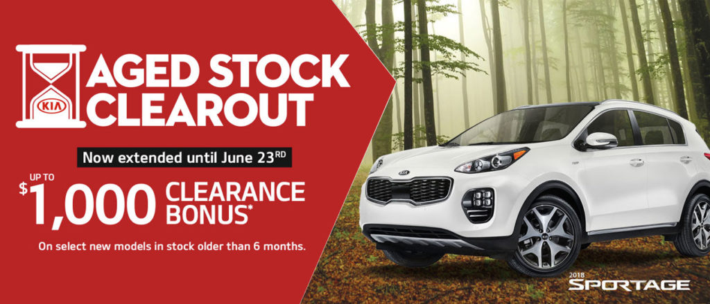 End of June Kia Offer