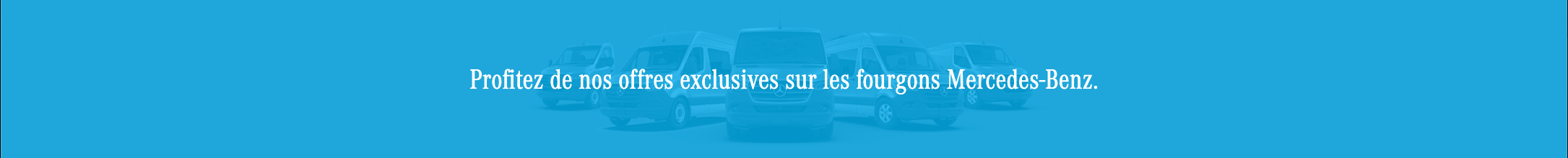 Mercedes-Benz Vans Offers – National (FR)