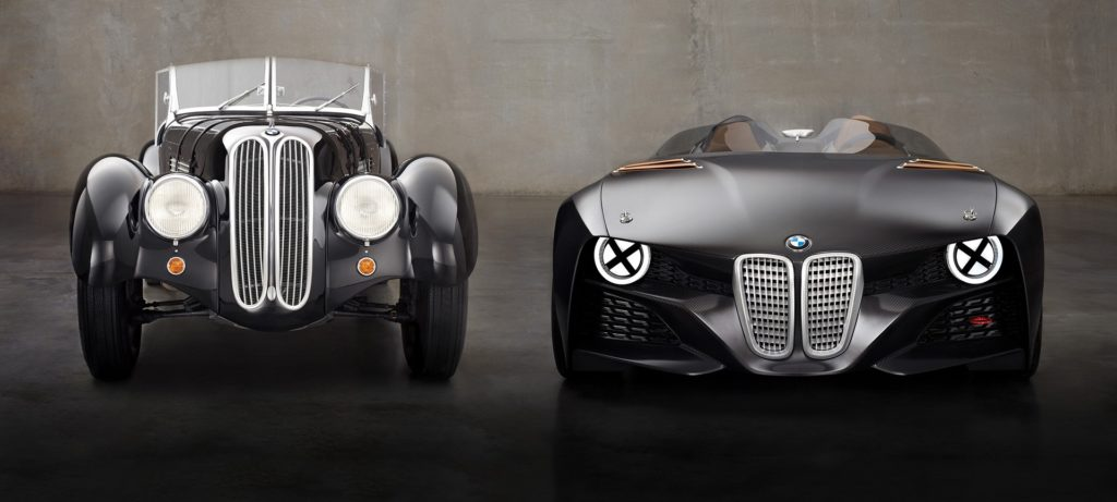 BMW concept cars of the past