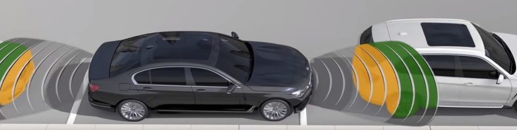 BMW Parking Assistant animation