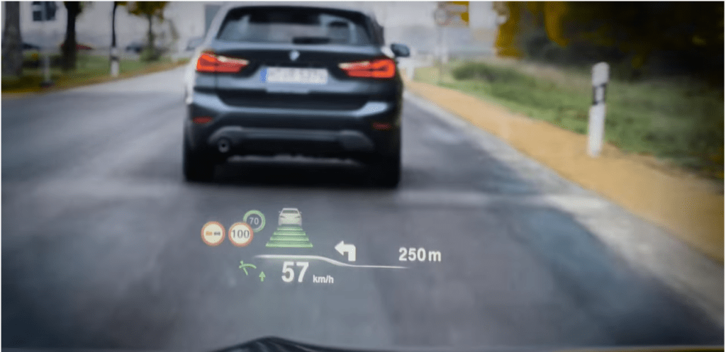 How Does BMW Head-Up Display Work?