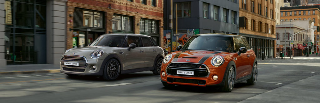 Two MINIS side-by-side on the