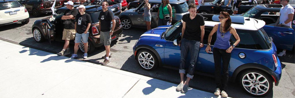 MINI club attendees get together