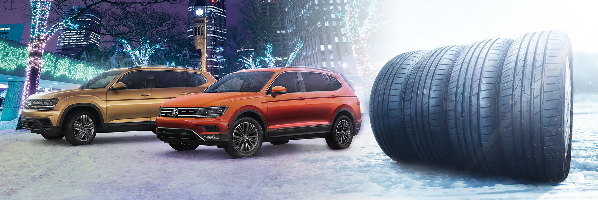 winter tires snow tire packages Chatham Volkswagen