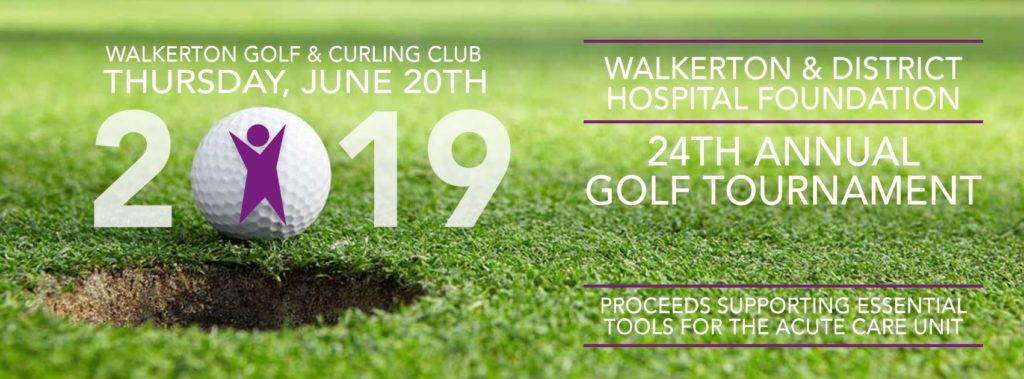 Walkerton Hospital & Foundation 2019 Golf Tournament
