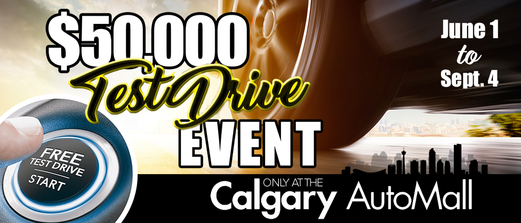 $50,000 Test Drive Event