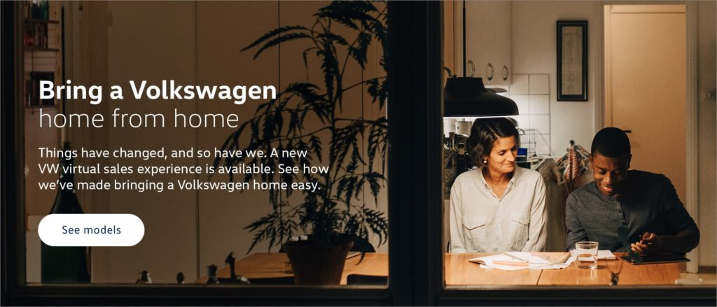 Bring A Volkswagen Home Graphic