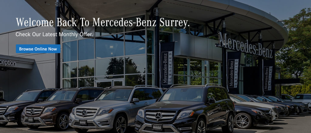 Welcome back to Mercedes-Benz Surrey
