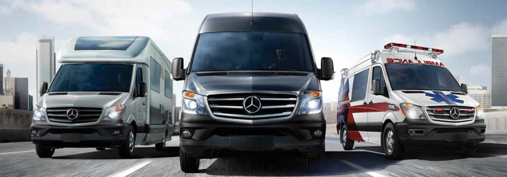 Mercedes-Benz Sprinter Van Banner