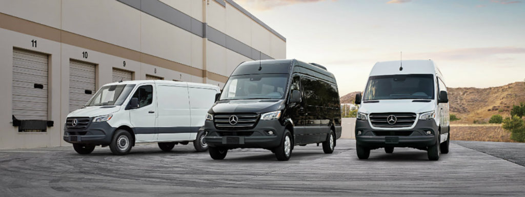 Mercedes-Benz Sprinter Lineup