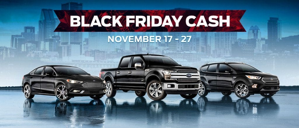 Ford Black Friday Clearance