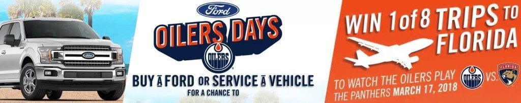 Win a Trip to Florida with Team Ford