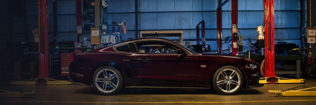 Roush Mustang Side Profile