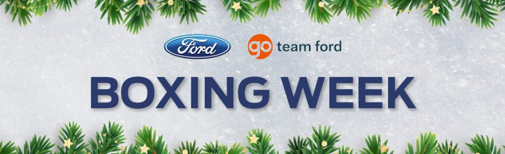 Boxing Week | Kentwood Ford
