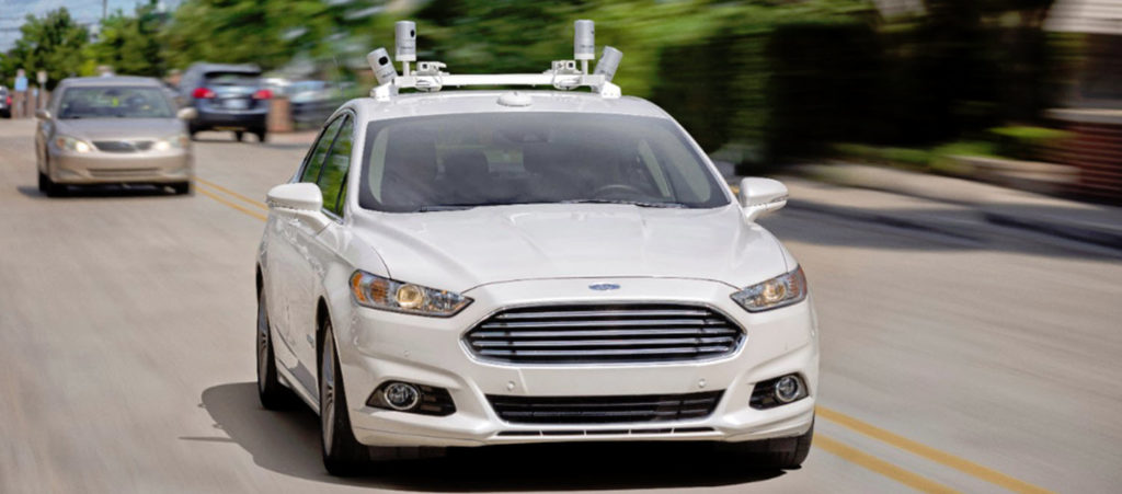 Driving Into the Future: Ford Autonomous Vehicles