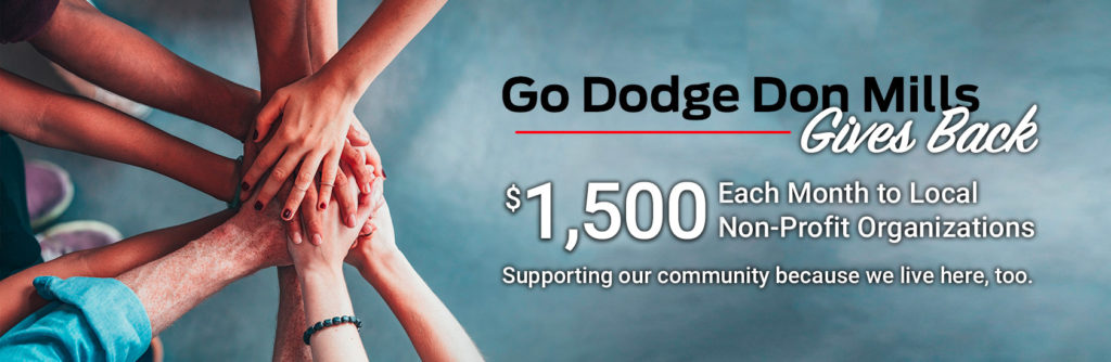 Why Go Auto Don Mills Gives Back