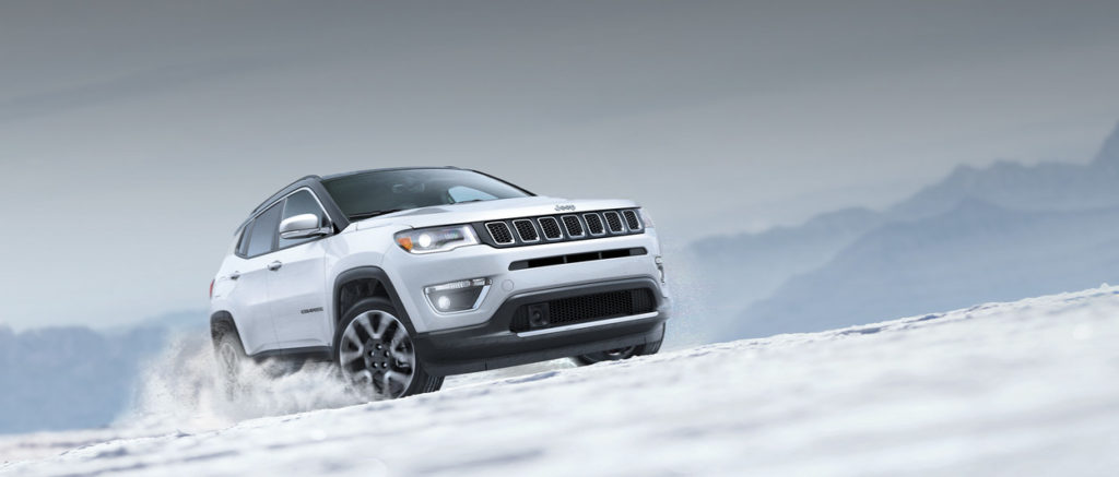 Jeep Compass off road driving BC
