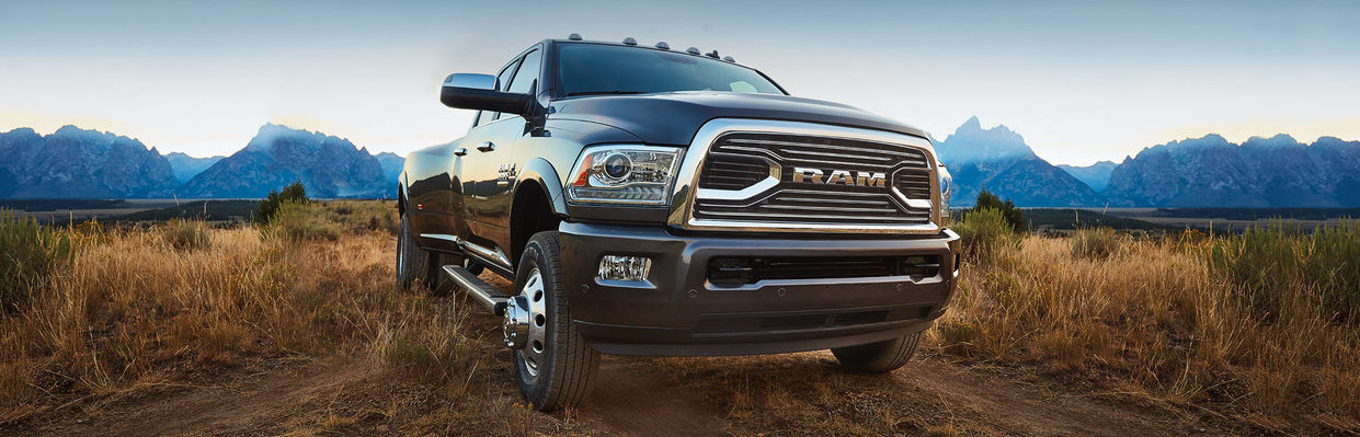 Front Grille of the Ram 3500