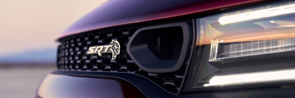2019 Dodge Charger Grill with SRT Badge