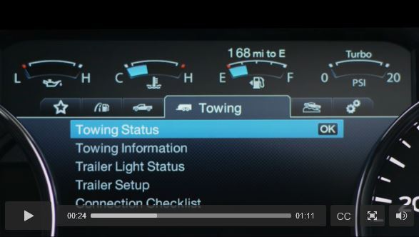 2017 Ford F-150: Productivity Screen