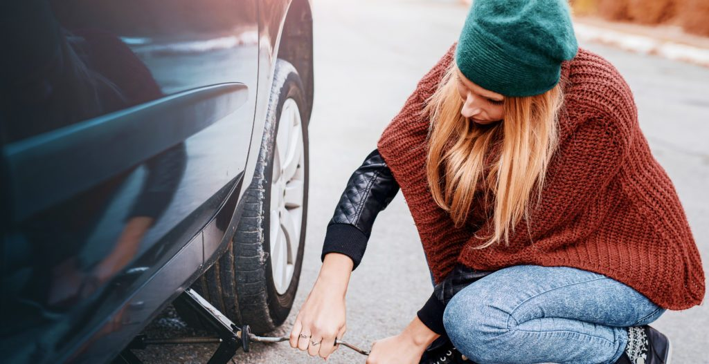 Learn how to change your flat tire with Kentwood Ford
