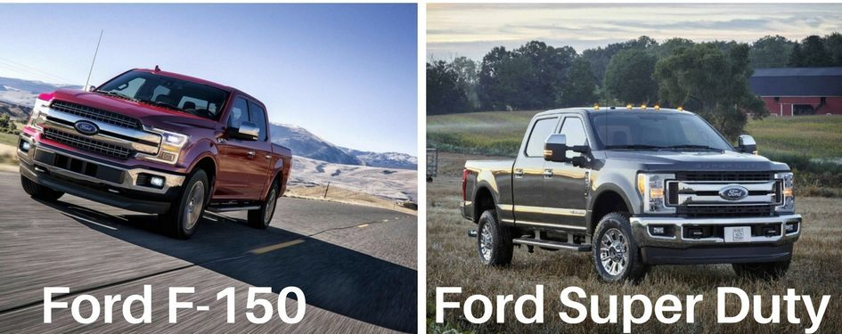 Different Ford Truck Models