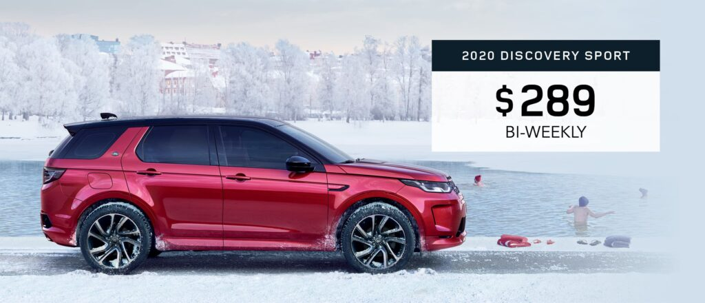 2020 Discovery Sport Offer Graphic January